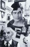 Thelma Pepper, Dmytro in his apartment. Saskatoon, 1987, selenium toned silver print, 28 x 19 cm