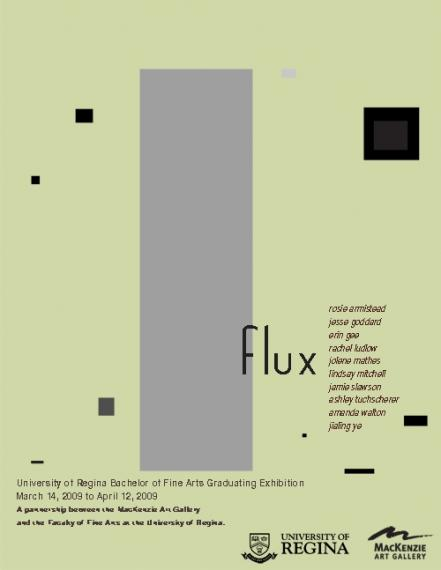 Flux event poster