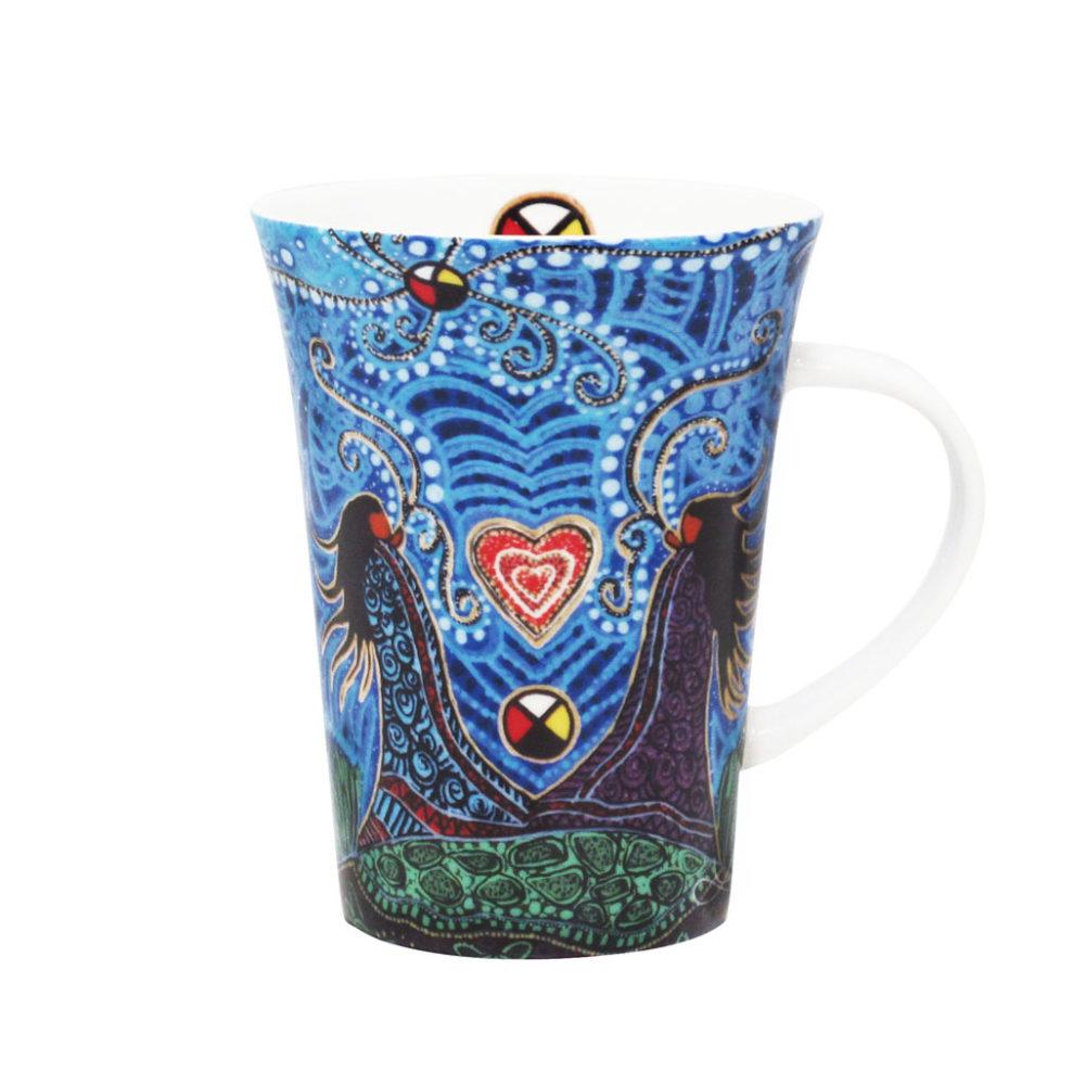 Mug with Leah Dorian Artwork
