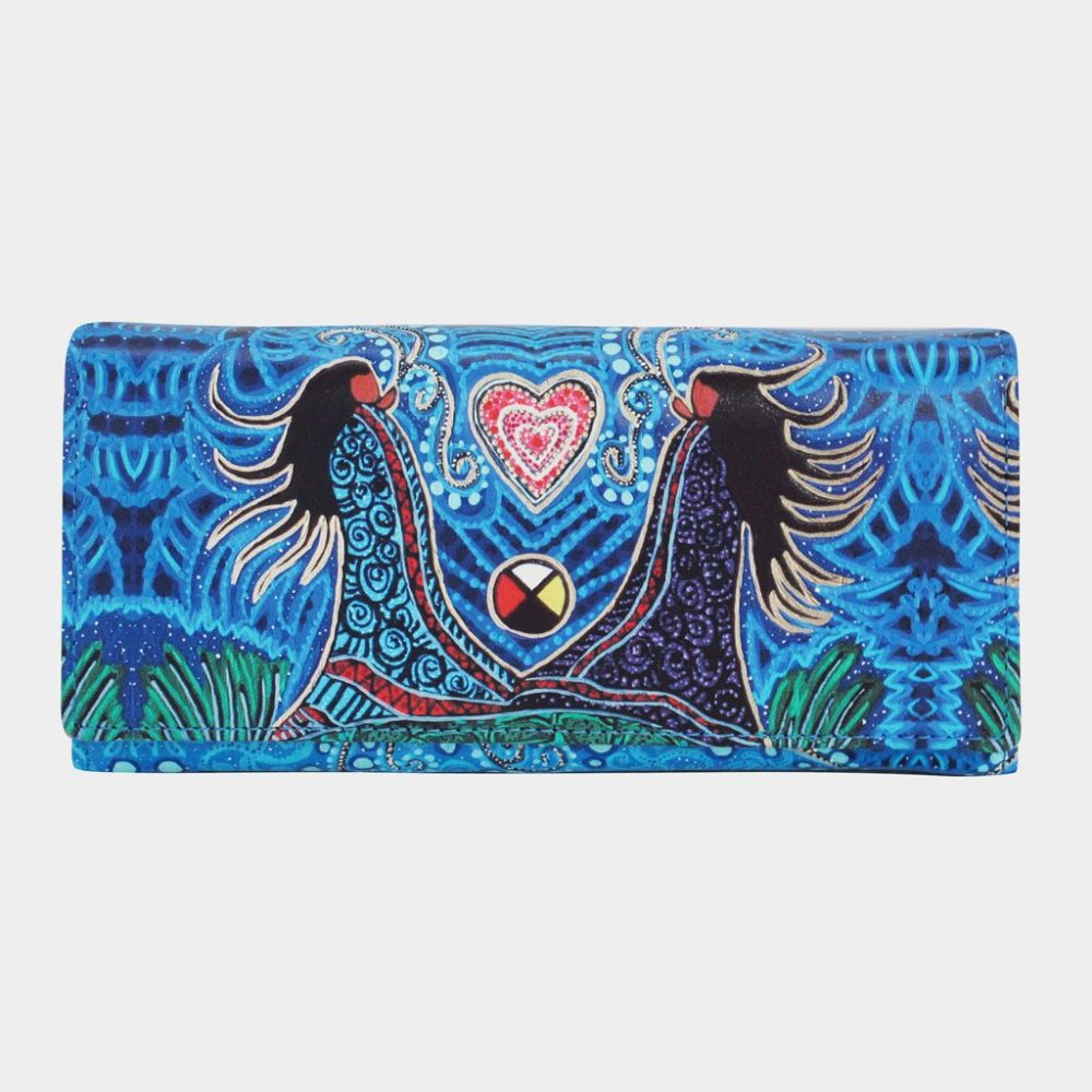 Wallet with Leah Dorian Artwork