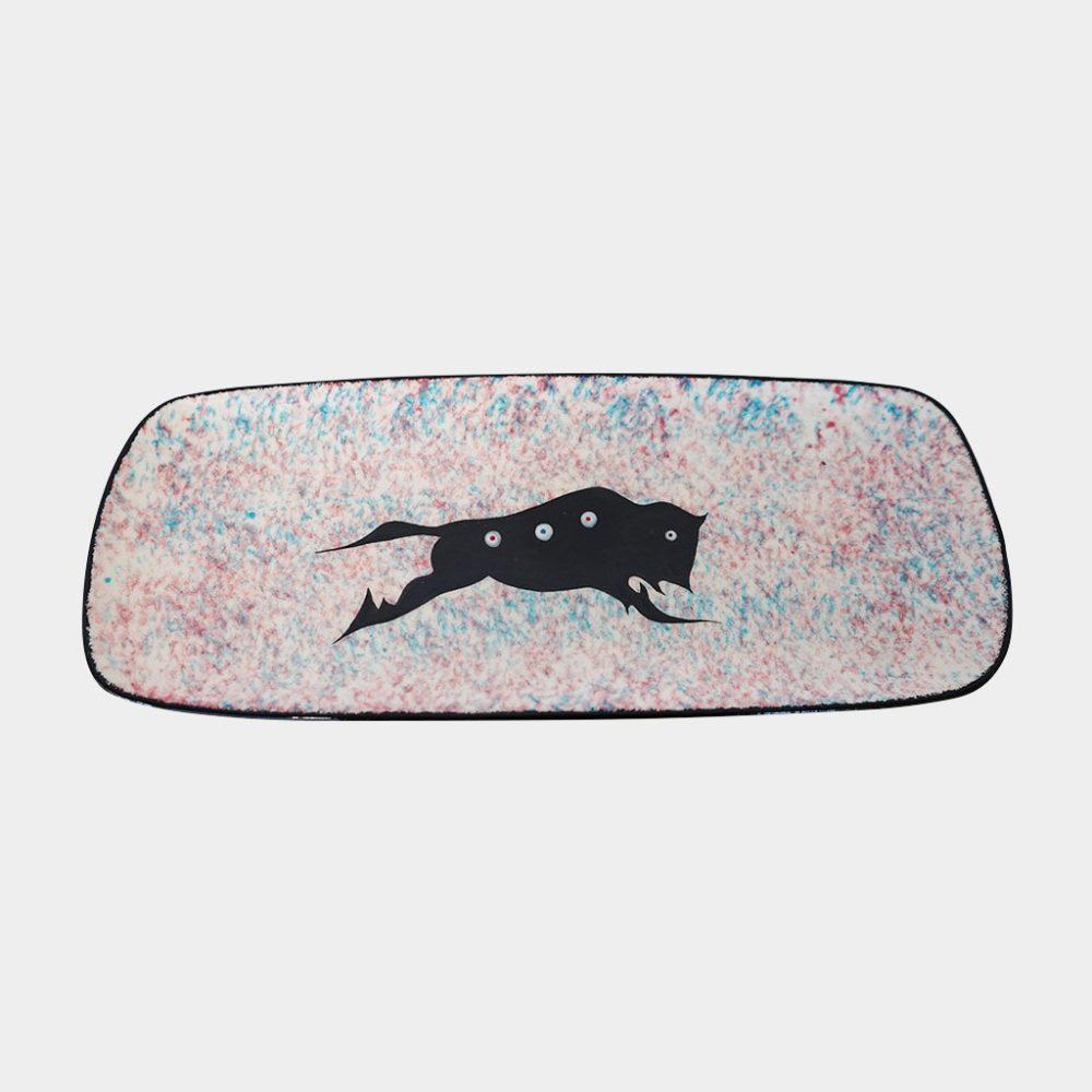 Buffalo Platter by Veran Pardeahtan